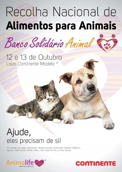 Campanha Banco Solidário Animal no Continente
