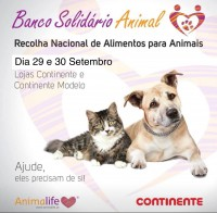 15ª iniciativa do Banco Solidário Animal da Animalife