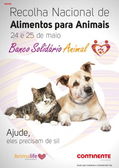 Banco solidário animal no Modelo Peniche