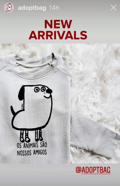 Nova coleção da Adoptbag