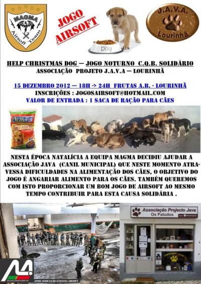 Help Christmas Dog - Jogo Nocturno C.Q.B. Solidário Lourinhã